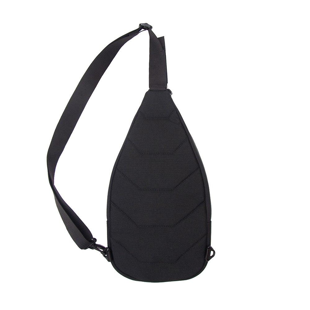Сумка-слінгер DANAPER Velox, Black-Gray /1032099/